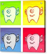 Tooth Fairies Acrylic Print by Jera Sky