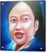 Toothless Girl Acrylic Print