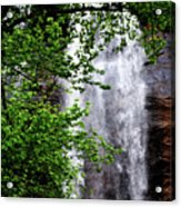 Top Half Of Toccoa Falls Acrylic Print