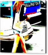 Top Model In Manhattan Acrylic Print