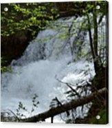 Top Of Clear Creek Falls Acrylic Print