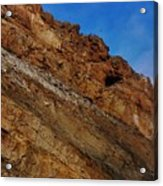 Top Of The Cliff Acrylic Print