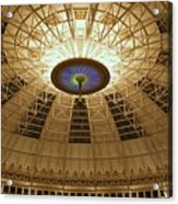 Top Of The Dome Acrylic Print by Sandy Keeton