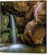 Topanga Grotto Acrylic Print