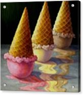 Toppled Triple Treat Acrylic Print