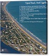 Topsail Beach Acrylic Print by Betsy Knapp