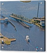 Topsail Swing Bridge Acrylic Print