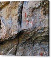 Toquima Cave Pictographs Acrylic Print