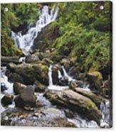 Torc Waterfall In Killarney National Acrylic Print