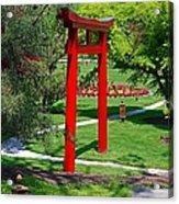 Torii Gate- Horizontal Acrylic Print
