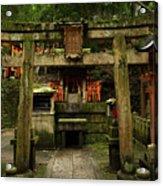 Toriis At Inari Acrylic Print