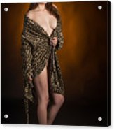 Toriwaits Nude Fine Art Print Photograph In Color 5078.02 Acrylic Print