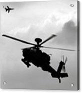Tornado F3 And Apache Acrylic Print