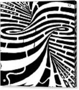 Tornado Maze Acrylic Print