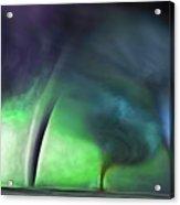 Tornado Storm 1 - Collage Acrylic Print