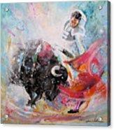 Toro Tempest Acrylic Print