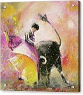 Toro Tenderness Acrylic Print