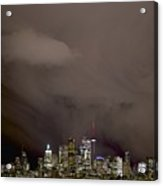 Toronto At Night Acrylic Print