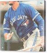 Toronto Blue Jays Troy Tulowitzki Acrylic Print