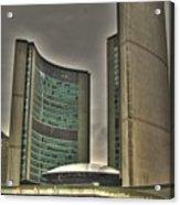 Toronto City Hall2 Acrylic Print