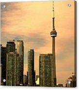 Toronto Cityscape Acrylic Print