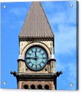 Toronto Clock Tower Acrylic Print