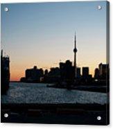 Toronto Downtown And Port Acrylic Print