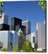 Toronto Downtown Skyline Acrylic Print