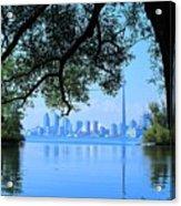 Toronto Framed Acrylic Print