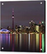 Toronto Lights Acrylic Print