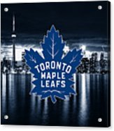 Toronto Maple Leafs Nhl Hockey Acrylic Print