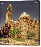 Toronto Old City Hall  Acrylic Print
