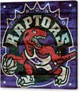 Toronto Raptors Barn Door Acrylic Print