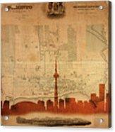 Toronto Skyline 36 Acrylic Print