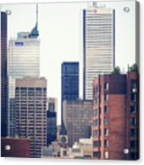 Toronto - Skyline Acrylic Print