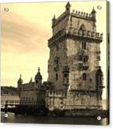 Torre De Belem Acrylic Print