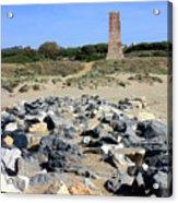Torre De Los Ladrones At Cabopino Acrylic Print