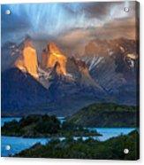 Torres Del Paine National Park, Chile Acrylic Print