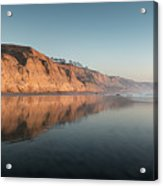 Torrey Pines Clear Skies And Sunset Acrylic Print