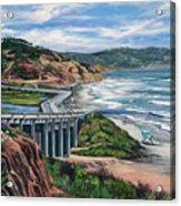 Torrey's Bridge Acrylic Print