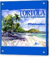 Tortola British Virgin Islands Shirt Acrylic Print