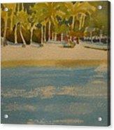 Tortuga Island Costa Rica Acrylic Print