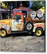 Tortuga Rum Factory Acrylic Print