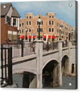Tosa Village Bridge Acrylic Print