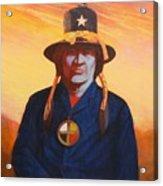 Tosh-a-wah,peneteka Comanche Chief Acrylic Print