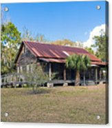 Tosohatchee Cattle Ranch In Central Florida Acrylic Print