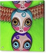 Totem Dolls Acrylic Print