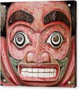 Totem Pole Detail Acrylic Print