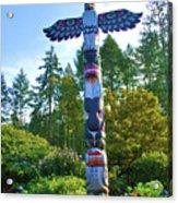 Totem Pole Acrylic Print
