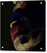 Totem Sentinel Acrylic Print by Barbara  White
